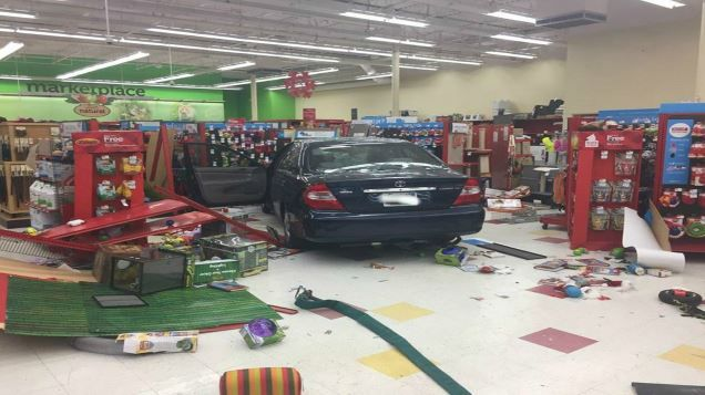 Vehicle crashes through Petco store in Pittsfield