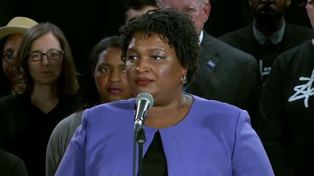 Abrams concedes to Kemp in Georgia governor race