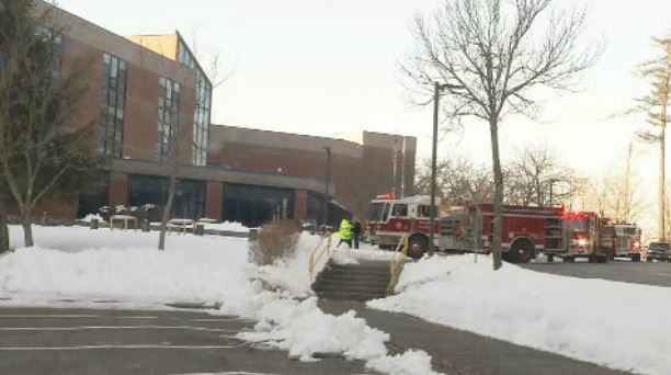 Small fire at Palmer High School