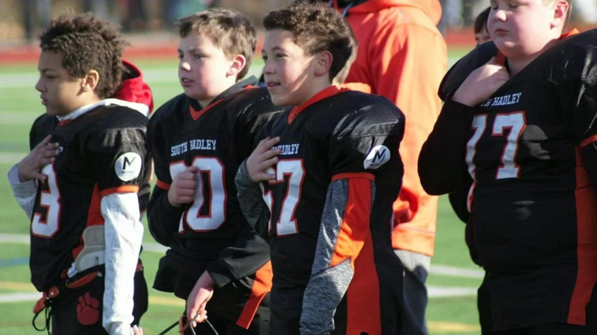 South Hadley youth football team fundraising for trip to regionals