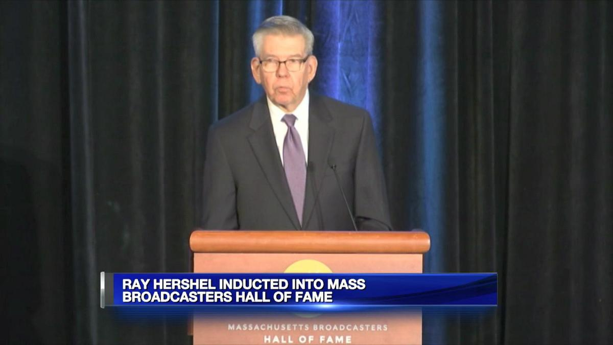 Ray Hershel inducted into Mass. Broadcasters Hall of Fame