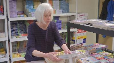 Retired teacher makes an impact on Link to Libraries