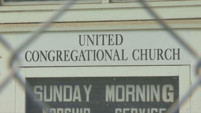 Conway United Congregational Church sign 061319