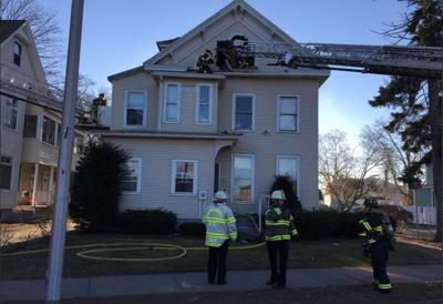 St. James Ave Springfield fire 120718