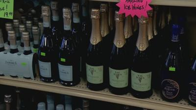 Champagne lovers opting for cheaper alternative this Valentine's Day.