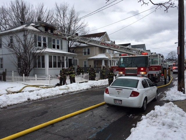 Fire on Wait St. in Springfield leaves 4 displaced