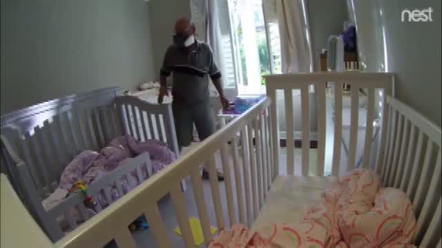 Nanny cam catches repairman in 'disturbing' act