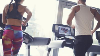Exercise working out fitness treadmill generic