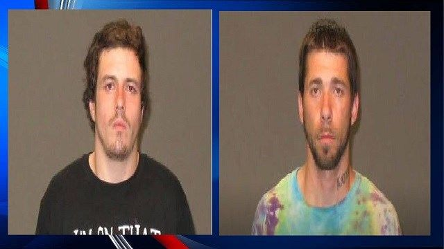 Two facing felony charges after stealing woman's purse, police say