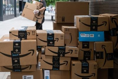 Amazon had a blowout quarter as people flocked to online shopping