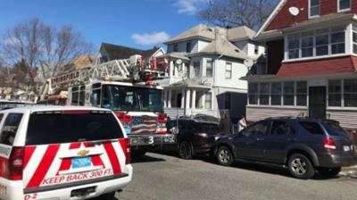 Wiring in ceiling fan nearly causes Springfield home to go up in flames.