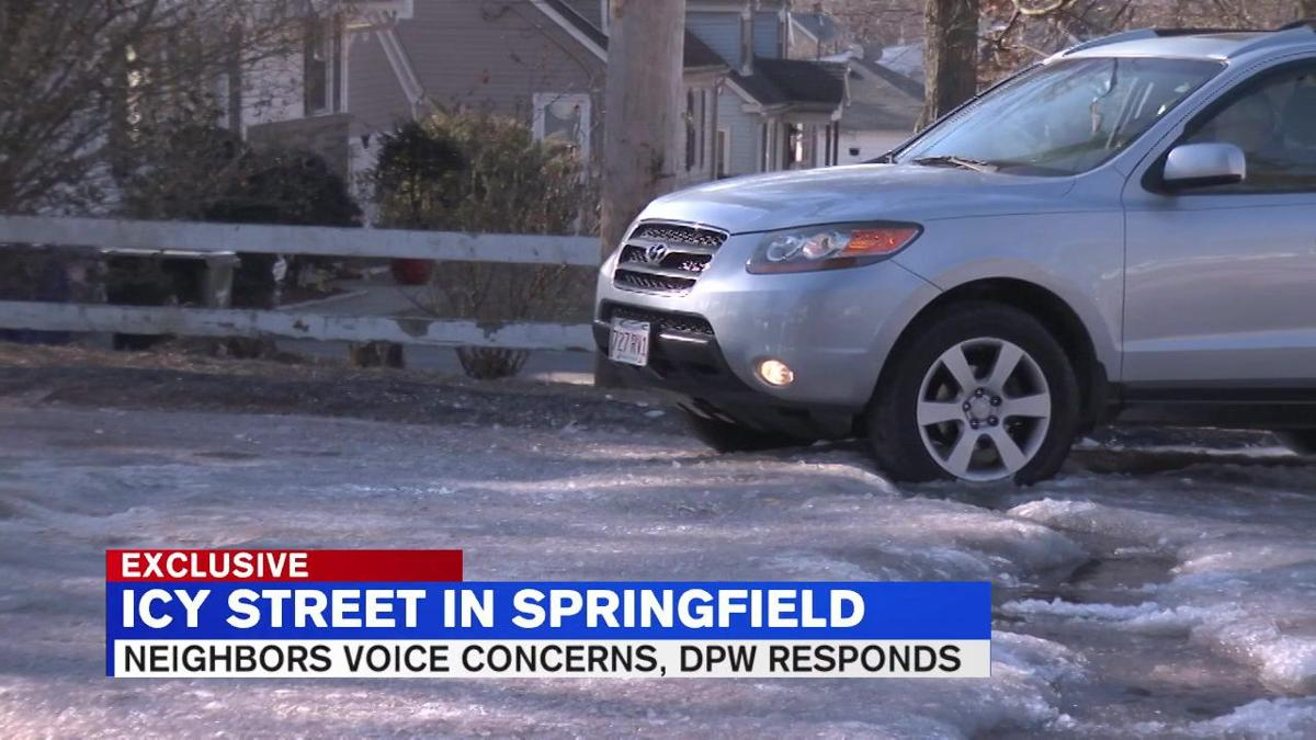 Springfield DPW responds to concerns over icy road