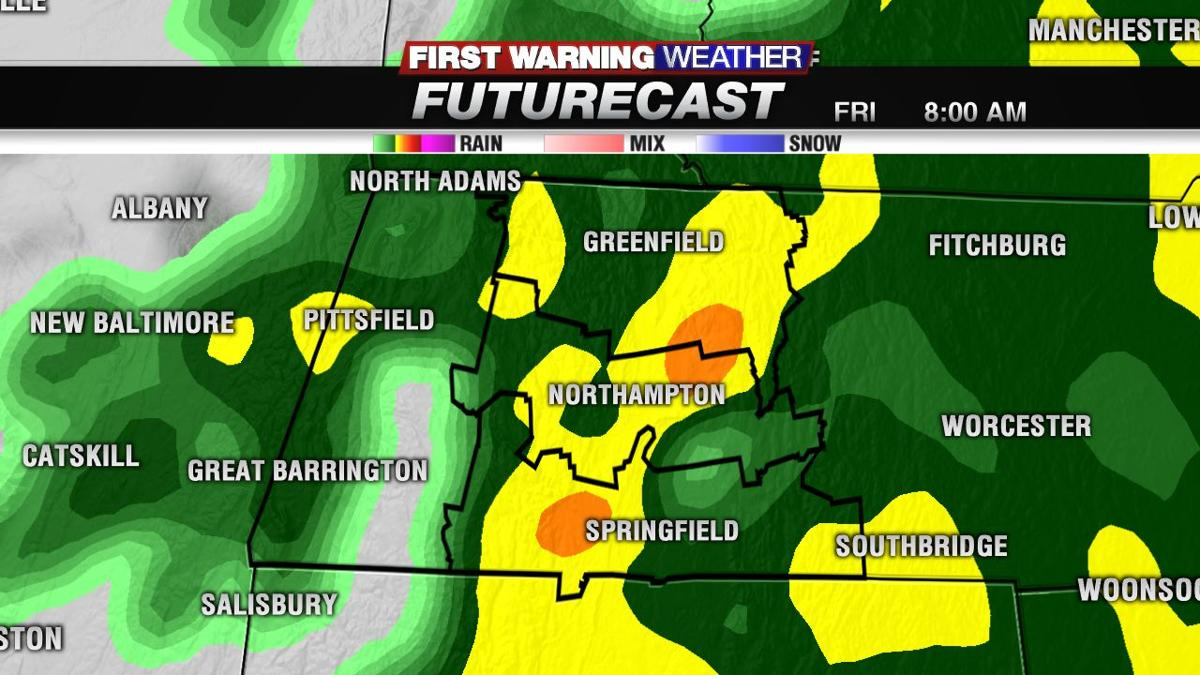 Staying dry this evening; rain arrives overnight