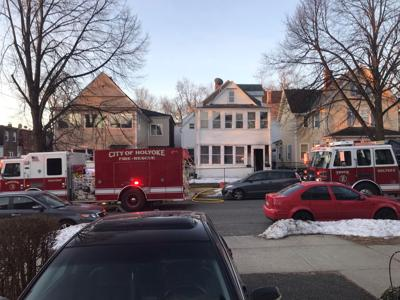 3 people displaced following fire on Suffolk St. in Holyoke