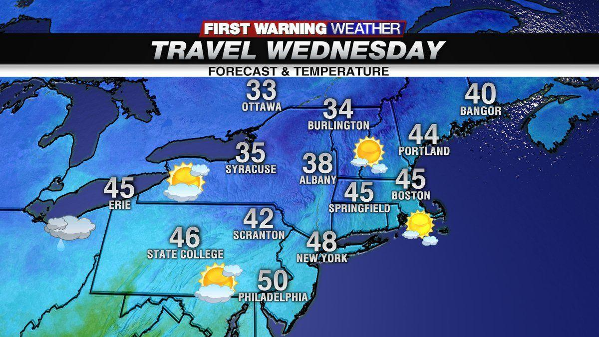 A dry Wednesday on tap, but tracking a wintry mix for Thanksgiving