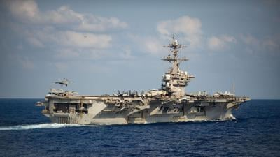 Small number of sailors test positive for coronavirus on aircraft carrier that previously had Covid outbreak