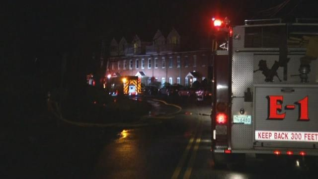 2 displaced after fire breaks out inside Northampton apartment