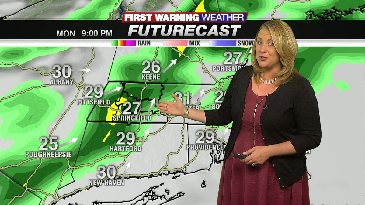 Janna's Monday Evening Forecast