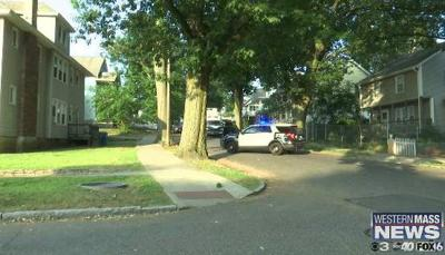Police investigation on Euclid Ave. in Springfield