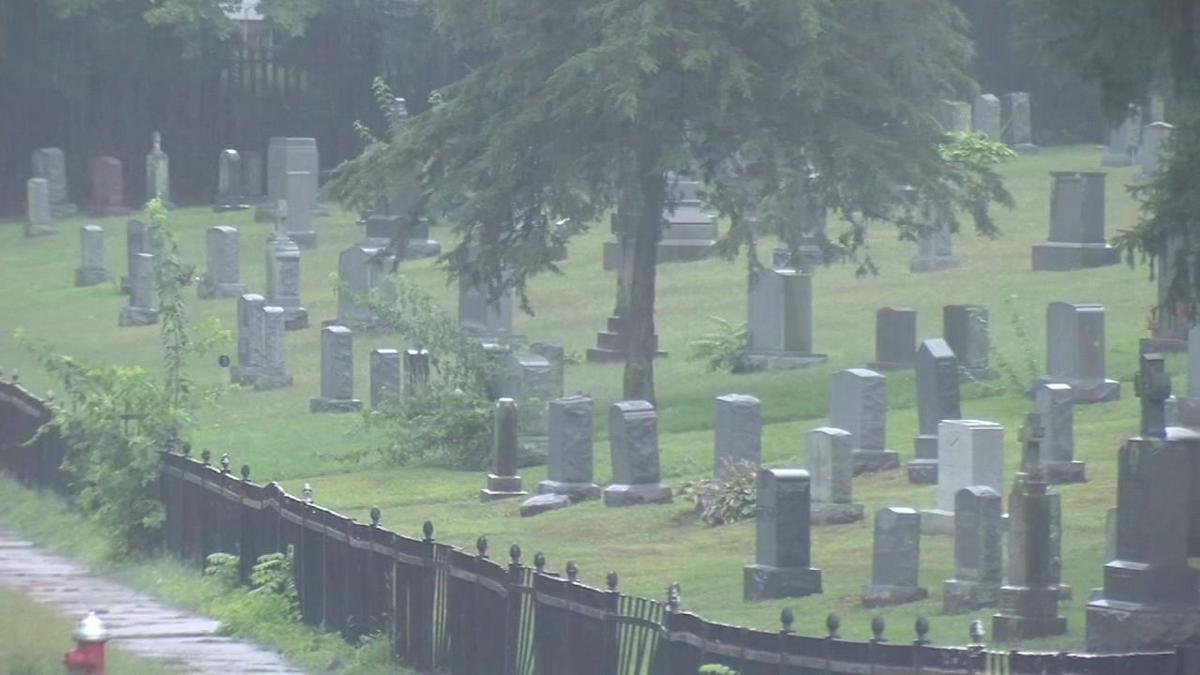 Families growing concerned over illegal dumping at Holyoke cemetery