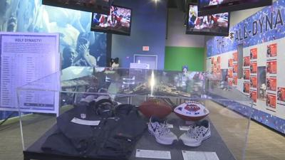 """Patriots Hall of Fame """"All-Dynasty Team Exhibit"""""""