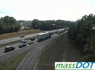 Serious crash on I-90 in Westfield, Westbound