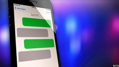 Police in Northampton cracking down on distracted driving.