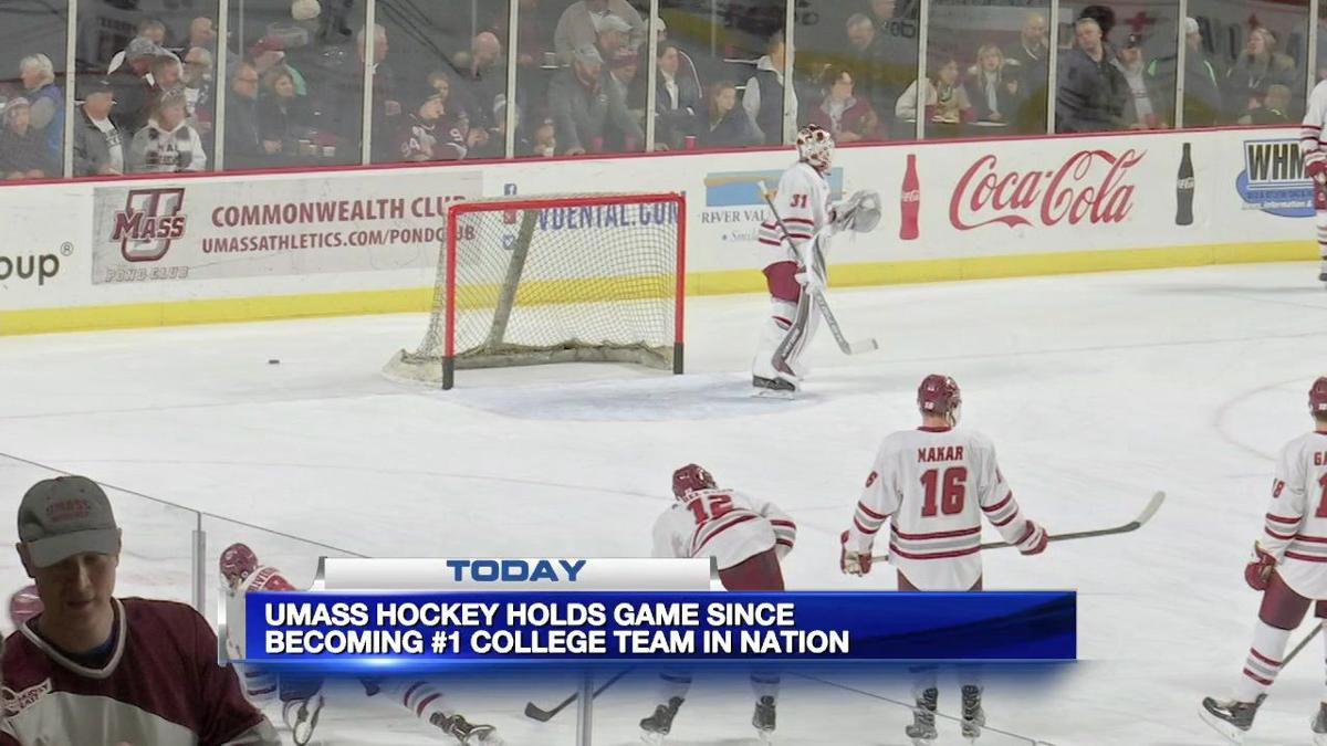 UMass Hockey hosts first home game since achieving #1 ranking
