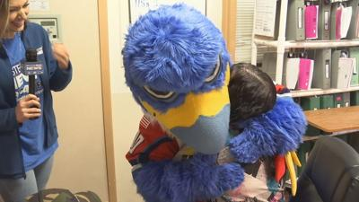 Surprise Squad spreading early holiday cheer to local family battling health issues.