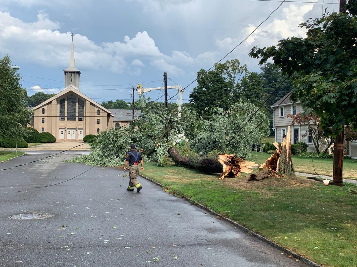 PHOTOS: Severe storm Aug  19 brings hail, downs trees, wires
