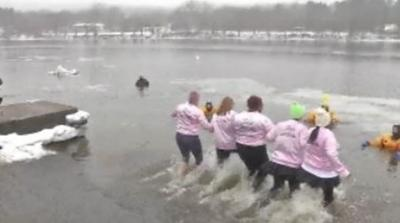 Annual Leprechaun Plunge in South Hadley to benefit several charities.