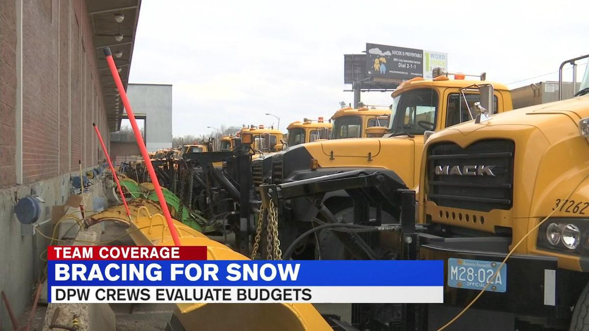 Springfield DPW braces for snow while evaluating budgets