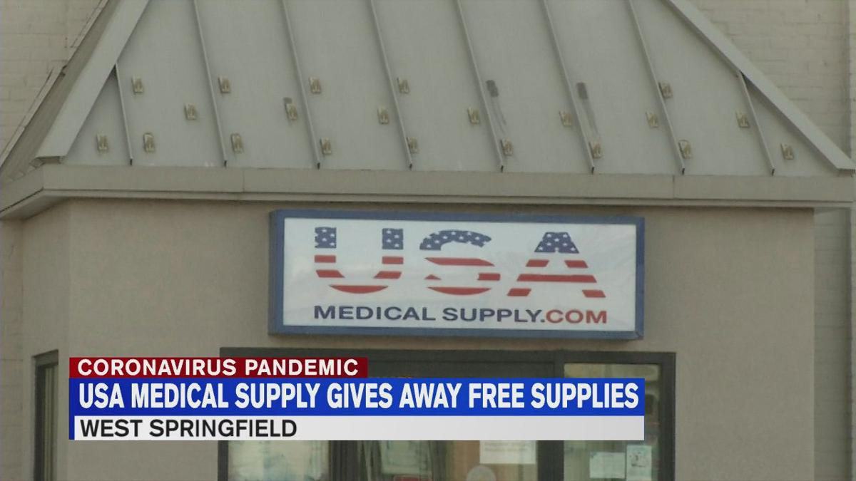 Usa Medical Supply Gives Away Free Hand Sanitizer To Front Line Healthcare Workers News Westernmassnews Com