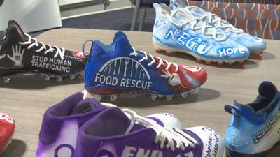 customized cleats for Patriots players