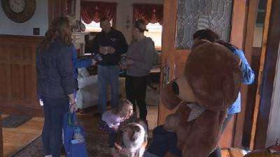 Lia Surprise Squad helps Feeding Hills family following fire