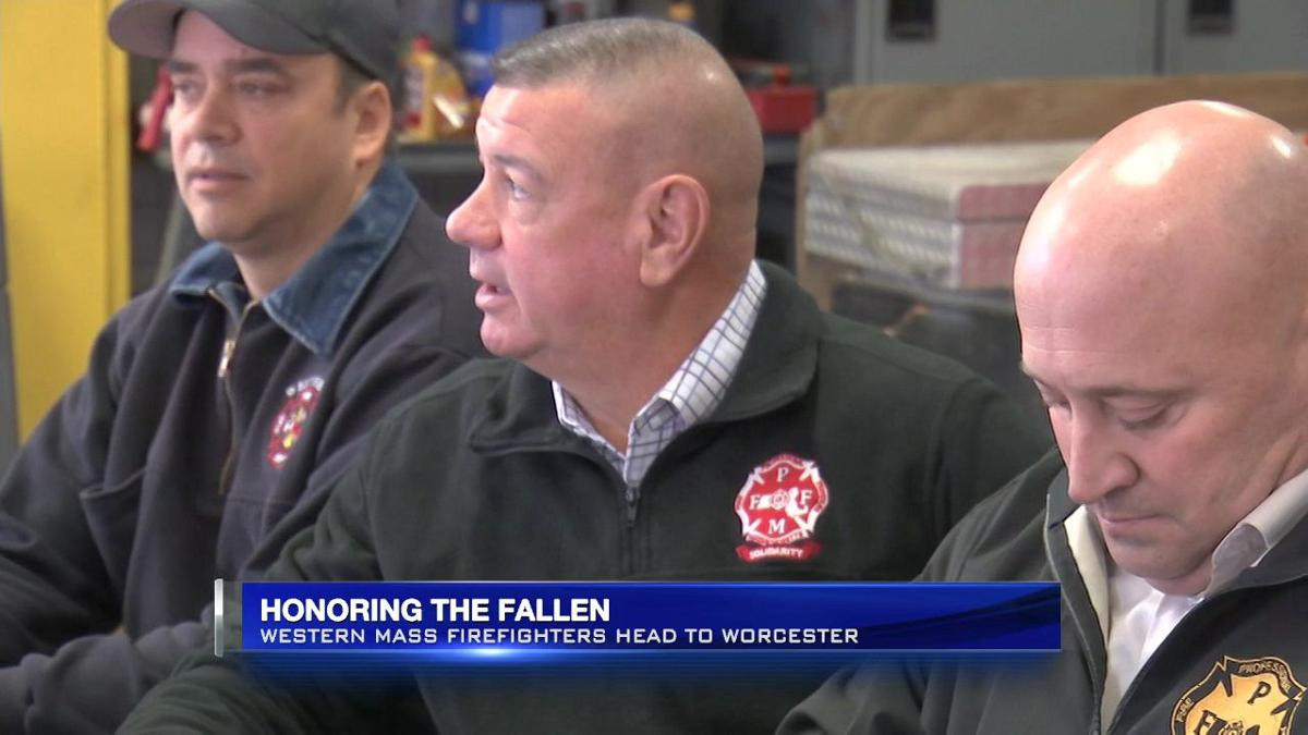 WMass firefighters heading to Worcester to honor fallen brother