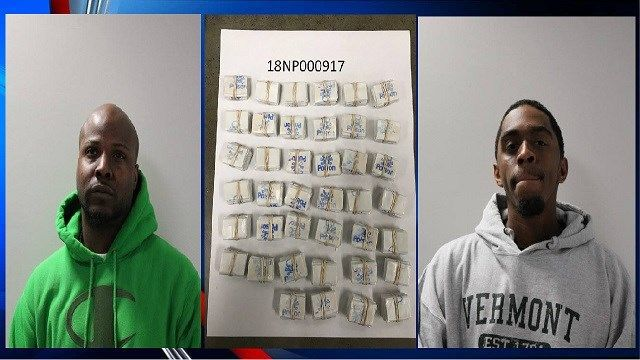 2 Springfield men arrested on drug trafficking charges in Vermont