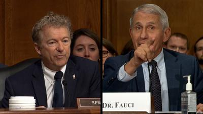 Fauci and Rand Paul have terse exchange: 'You do not know what you are talking about'