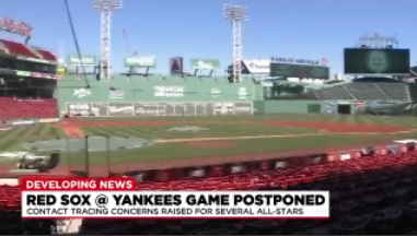Red Sox v. Yankees game postponed after New York players test positive for COVID-19