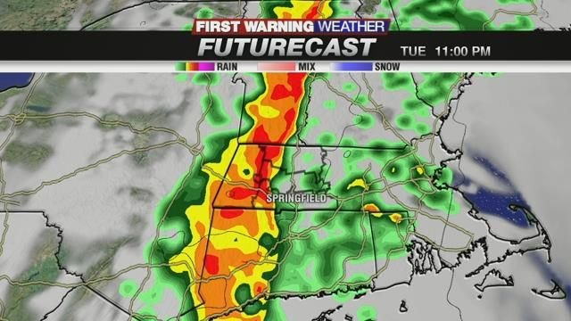 Heavy rain and wind expected Tuesday into Wednesday