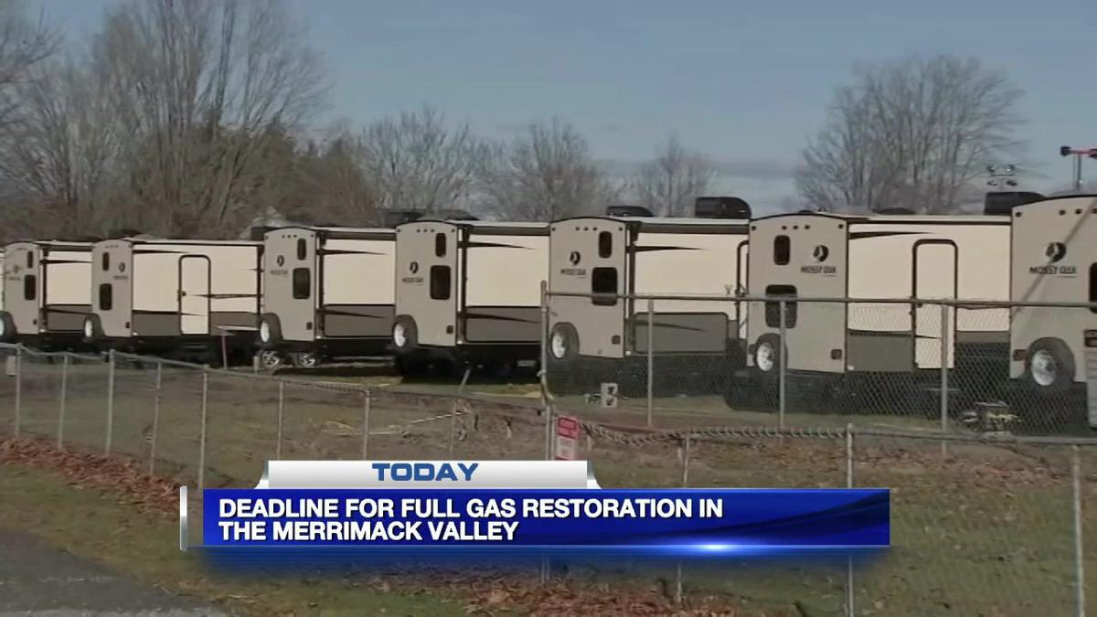 Columbia Gas customers in Merrimack Valley excpected to have gas restored Sunday
