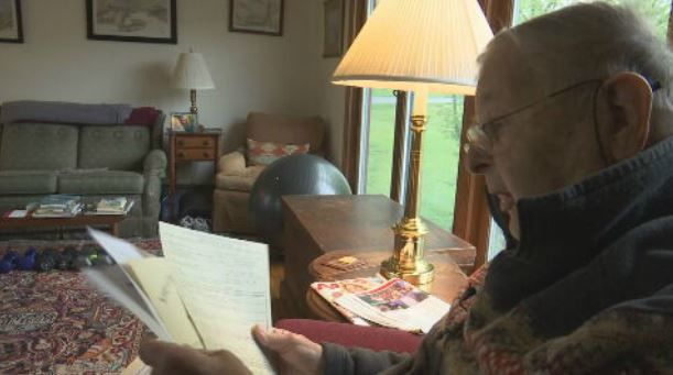 'Salute to Veterans' honors Amherst man who served during WWII