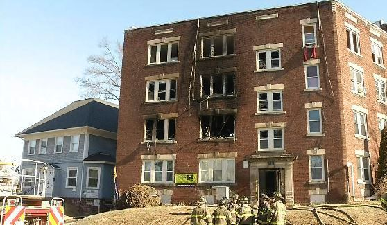 Sprinkler system not required for Belmont Avenue apartments