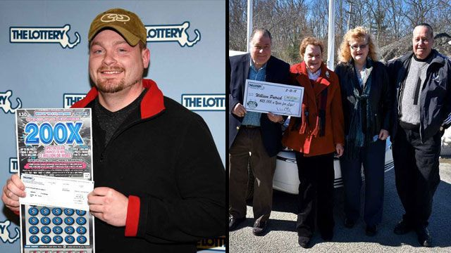 Two WMass residents hit big prizes on Mass. Lottery games