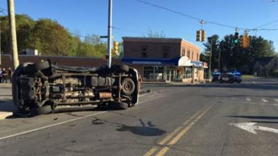 Section of Wahconah St. in Pittsfield reopened following rollover crash.