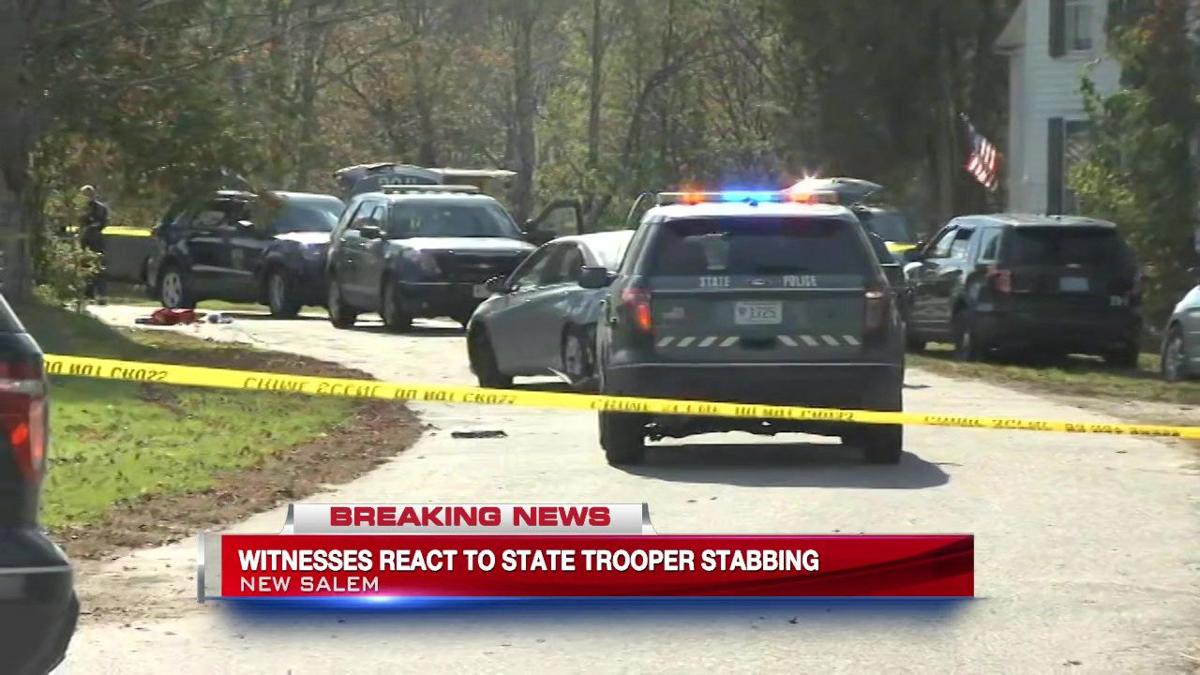 State Trooper stabbed, suspect shot following pursuit in New