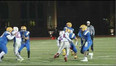 Chicopee Comp Football Coach encourage with promise of pancakes