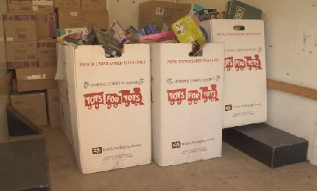 Toys for Tots continues until Friday!