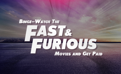 A Honda dealership will pay you $900 to watch all 9 'Fast and Furious' movies