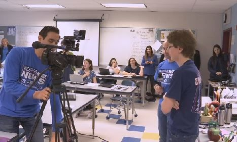 Lia Surprise Squad brings 'breaking news party' to Ludlow student